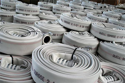 OSW Fire Fighting Hose Syntex 500 white plain