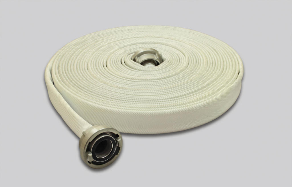 OSW Fire Fighting Hose Syntex WH white plain