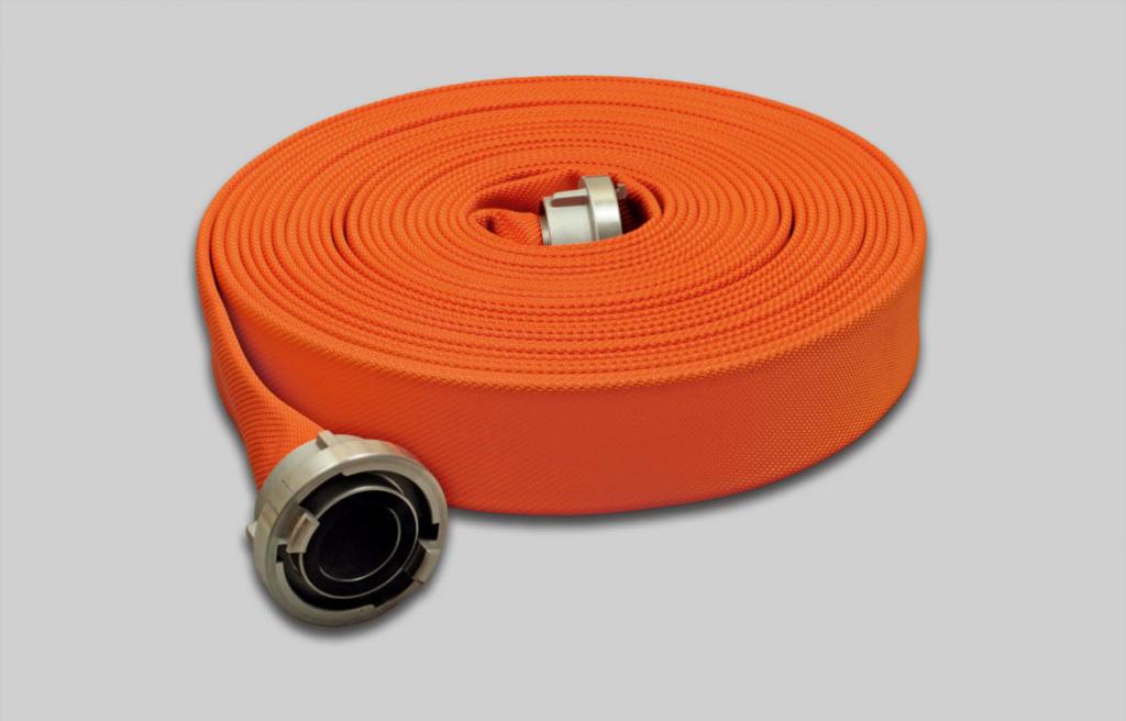 OSW Fire Fighting Hose Syntex Signal orange