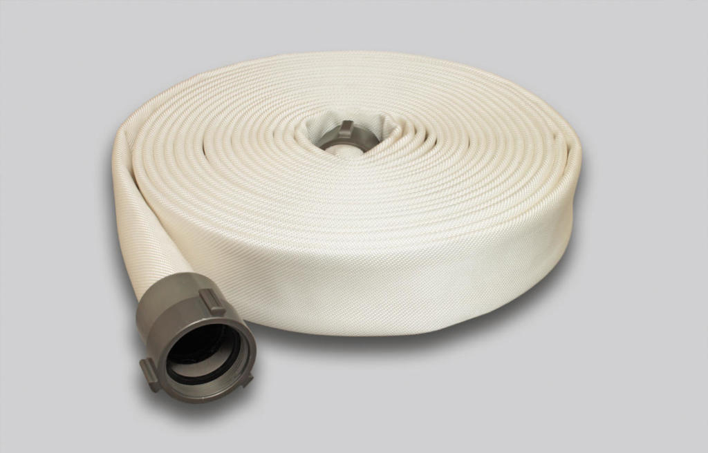 OSW Industry Hose Syntex Double Jacket white plain